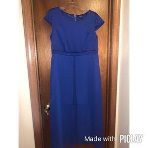 Split dress!